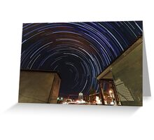Southern Startrails Greeting Card