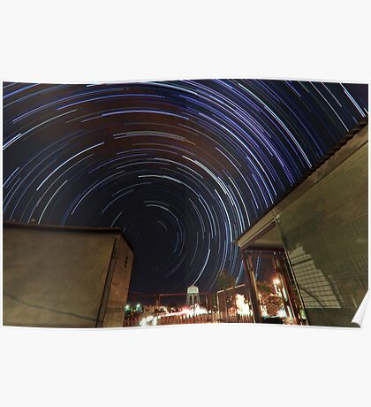 Southern Startrails Poster