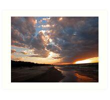 Pinery Park sunset Art Print