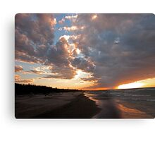 Pinery Park sunset Metal Print