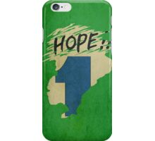 Hope!! (time machine) iPhone Case/Skin