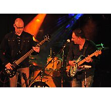 As If - Steve Rothwell on Bass & Philip Goss -guitars and vocals Photographic Print