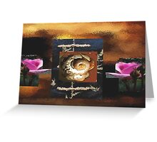 wraped in mother earth hands  Greeting Card