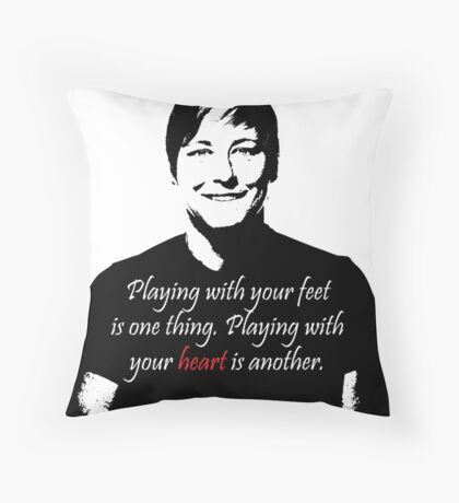 USWNT - Wambach - soccer - futbol Throw Pillow