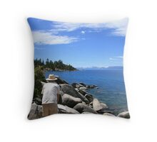The Artist At Work Throw Pillow