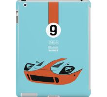 1968 24 hours of Le Mans winning Ford GT40 #9 iPad Case/Skin