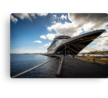 The Disney Fantasy: Port San Juan Canvas Print