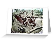 The Old Cultivator Lost in Limbo Greeting Card