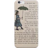 The Queen of Pirate Isle Bret Harte, Edmund Evans, Kate Greenaway 1886 0016 Umbrella iPhone Case/Skin