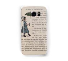 The Queen of Pirate Isle Bret Harte, Edmund Evans, Kate Greenaway 1886 0016 Umbrella Samsung Galaxy Case/Skin