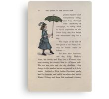 The Queen of Pirate Isle Bret Harte, Edmund Evans, Kate Greenaway 1886 0016 Umbrella Canvas Print