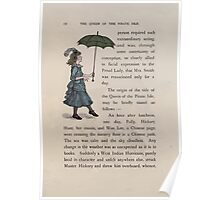 The Queen of Pirate Isle Bret Harte, Edmund Evans, Kate Greenaway 1886 0016 Umbrella Poster