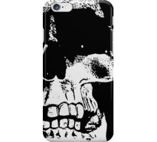 The Skull - Black and White Art Prints Notebooks iPhone Case/Skin