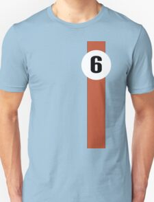 Le mans winning Ford GT40 Gulf-Oil racing livery T-Shirt