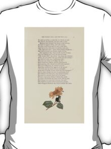 LIttle Ann and Other Poems by Jane and Ann Taylor art Kate Greenaway 1883 0051 The Wooden Doll and the Wax Doll T-Shirt