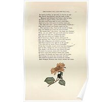 LIttle Ann and Other Poems by Jane and Ann Taylor art Kate Greenaway 1883 0051 The Wooden Doll and the Wax Doll Poster