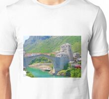 Mostar Bridge Unisex T-Shirt