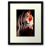 Spirit of a Navajo Woman Framed Print