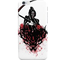 Death and Blood Tribal Prints T-Shirt and Sticker iPhone Case/Skin