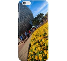 EPCOT Flower Bed iPhone Case/Skin