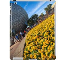 EPCOT Flower Bed iPad Case/Skin