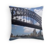 View from Sydney Harbour Throw Pillow