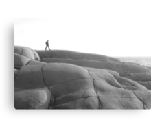 The Rocks at Peggy's Cove,Nova Scotia Canvas Print
