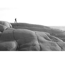 The Rocks at Peggy's Cove,Nova Scotia Photographic Print