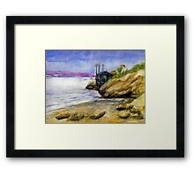 Newport Channel Framed Print