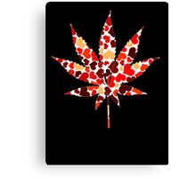 Love and Weed - Love and Pot - Weed leaf with hearts! :D Pouch Canvas Print