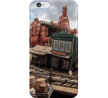 The Wild West Scene iPhone Case/Skin