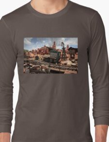 The Wild West Scene Long Sleeve T-Shirt