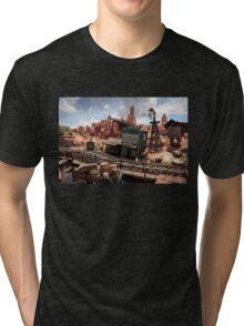 The Wild West Scene Tri-blend T-Shirt