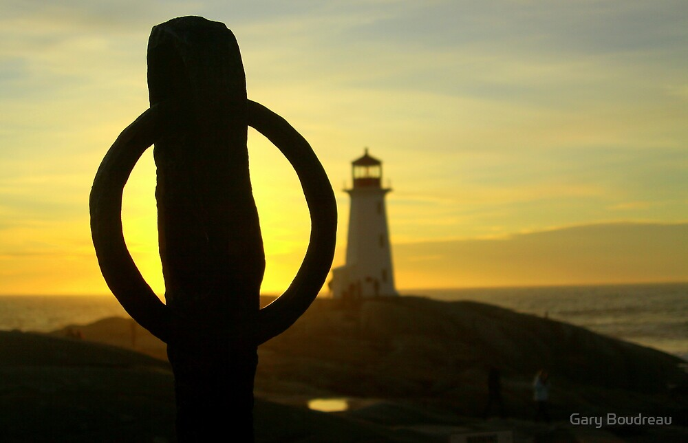 Through the Anchors Eye. by Gary Boudreau