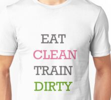 Eat Clean Unisex T-Shirt