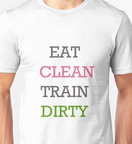 Eat Clean Unisex T-Shirt
