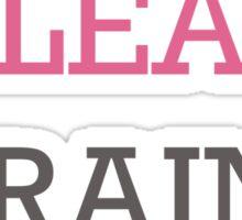 Eat Clean Sticker