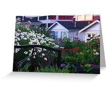 Pea Patch in Belltown Greeting Card