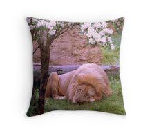 Lion Around Throw Pillow