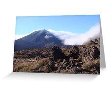 Mt Ngauruhoe (Mt Doom - LOTR) Greeting Card