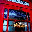 Telephone Box Sunset by Josephine Pugh