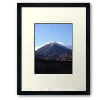 Mt Ngauruhoe (Mt Doom - LOTR) Framed Print