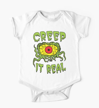 Creep It Real One Piece - Short Sleeve