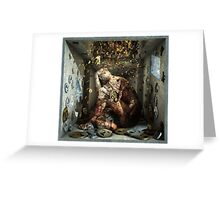 "Ecce Homo 91 ""SHALECHET falling leaves "" Greeting Card"