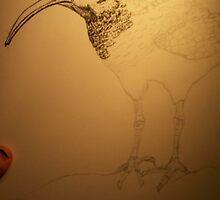Unfinished Bird by B2tt3rf1y