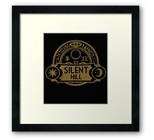SILENT HILL WELCOMING Framed Print
