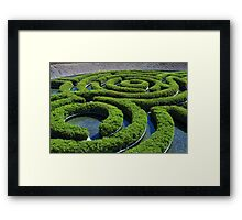 Concentric Framed Print