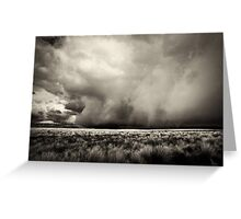 Thunderstorm Is Coming Greeting Card