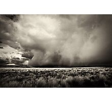 Thunderstorm Is Coming Photographic Print