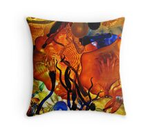 Under the Glass Ceiling Throw Pillow
